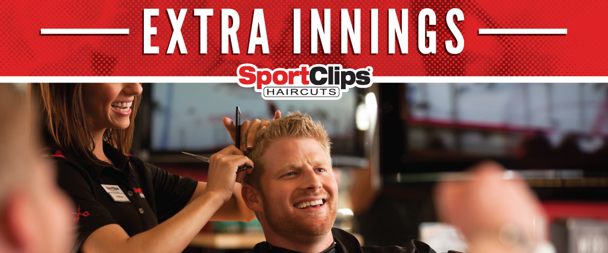 The Sport Clips Haircuts of Greenwood South  Extra Innings Offerings